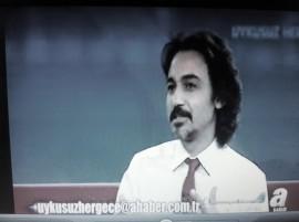Dr. Agah Aydın, uykusuz her gece