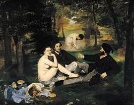Psikiyatri uzmanı - Agah Aydın, Édouard Manet'nin, Kırda Öğle Yemeği tablosunu yorumluyor...